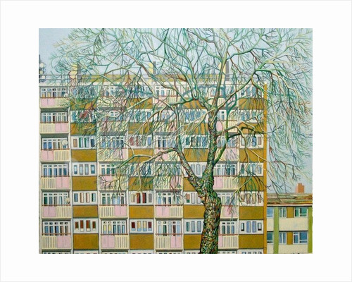 Canning Town Winter by Noel Paine