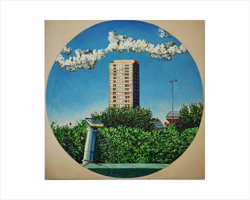 Summer Canning Town by Noel Paine