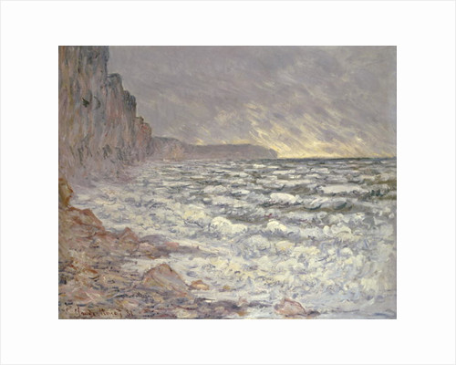 The Sea at Fecamp, 1881 by Claude Monet