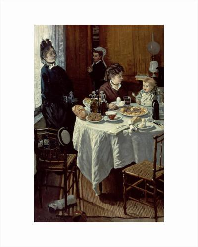 The Breakfast, 1868 by Claude Monet