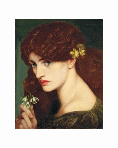 Snowdrops, 1873 by Dante Gabriel Charles Rossetti