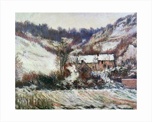 Snow near Falaise, Normandy, c.1885-86 by Claude Monet