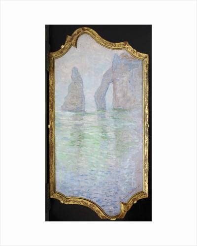 Étretat, L'Aiguille et la Porte d'Aval, 1885-86 by Claude Monet
