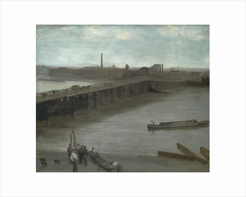 Brown and Silver: Old Battersea Bridge, 1859-63 by James Abbott McNeill Whistler