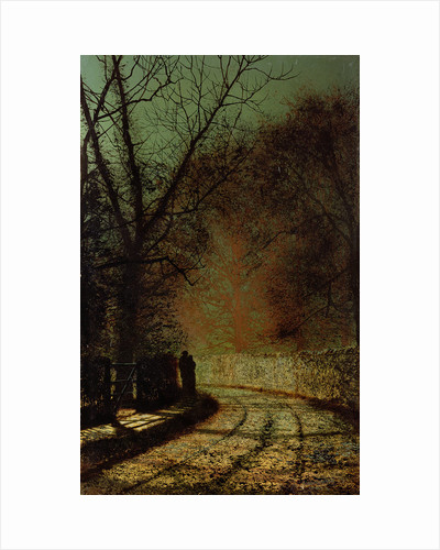 The Lovers by John Atkinson Grimshaw