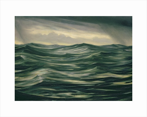 The Sea by Christopher Richard Wynne Nevinson