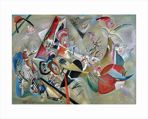 In the Grey by Wassily Kandinsky