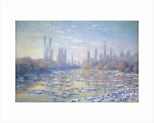 Les Glacons, 1880 by Claude Monet