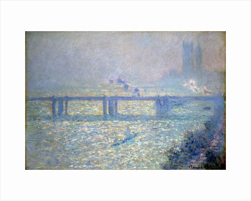 The Thames at Charing Cross Bridge, London, 1899 by Claude Monet