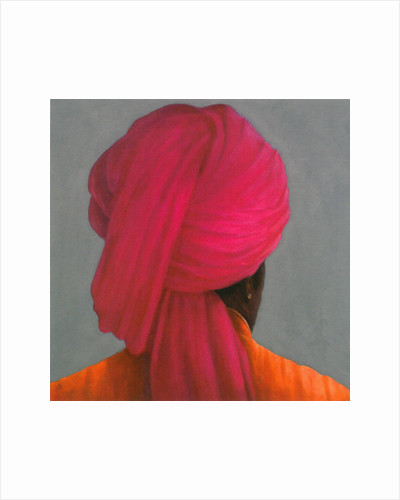 Pink Turban by Lincoln Seligman