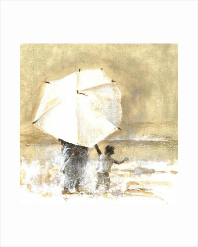 Umbrella and Child 2 by Lincoln Seligman