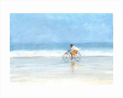 Boy on a Bike 1 by Lincoln Seligman