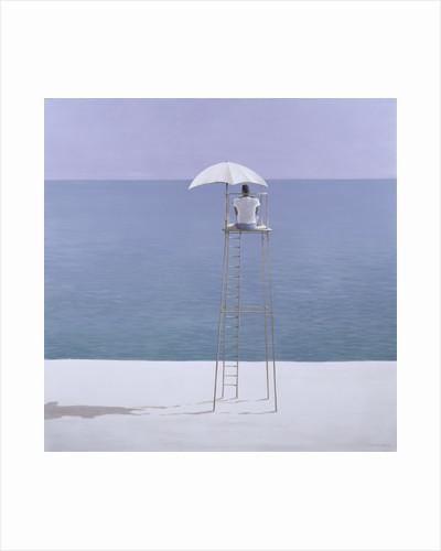 Beach guard by Lincoln Seligman