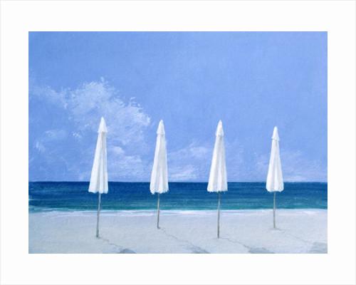 Beach umbrellas by Lincoln Seligman