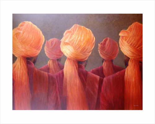 All Five Heads by Lincoln Seligman