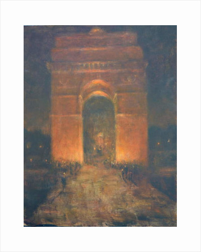 India Gate by Lincoln Seligman