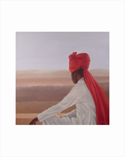 Palace Guard, Jaipur by Lincoln Seligman