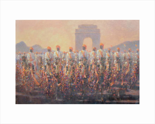 Delhi Parade by Lincoln Seligman
