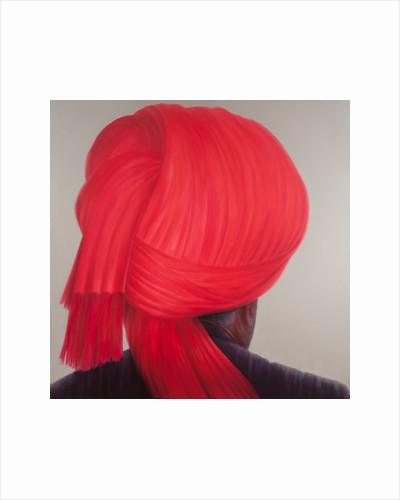 Red Turban by Lincoln Seligman