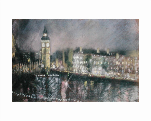 Big Ben, from the South Bank by Sophia Elliot