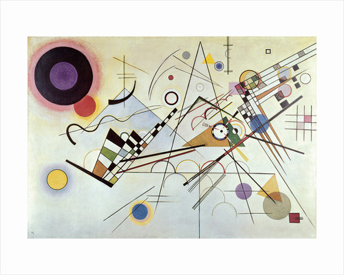 Composition Number 8 by Wassily Kandinsky
