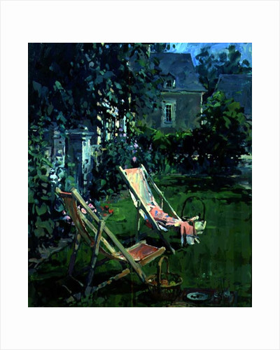 Deck Chairs at Coudray by Susan Ryder