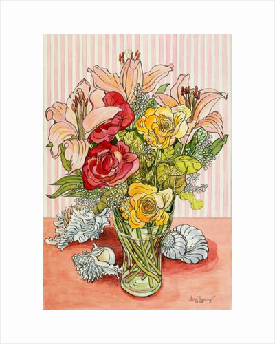 Roses, Lillies and Shells by Joan Thewsey