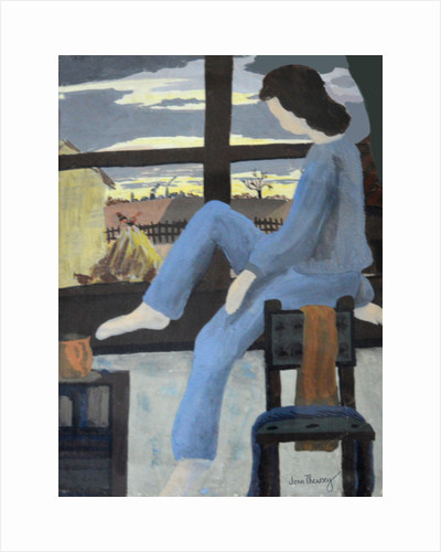 Girl Watching the Dawn, 1950 by Joan Thewsey