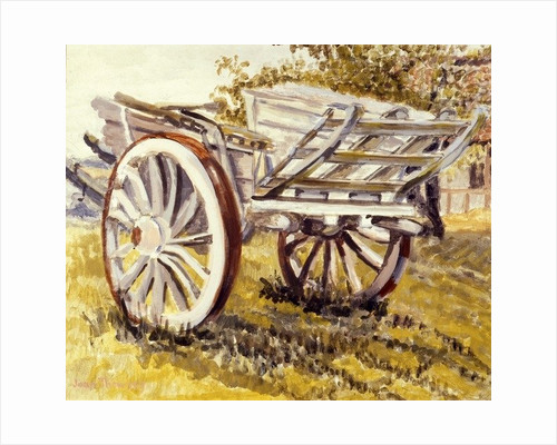 Farm Cart, Suffolk by Joan Thewsey