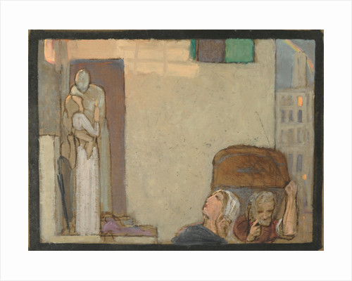 Study for The Farewell by Frederick Cayley Robinson