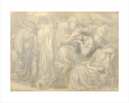The Death of Lady Macbeth by Dante Gabriel Charles Rossetti