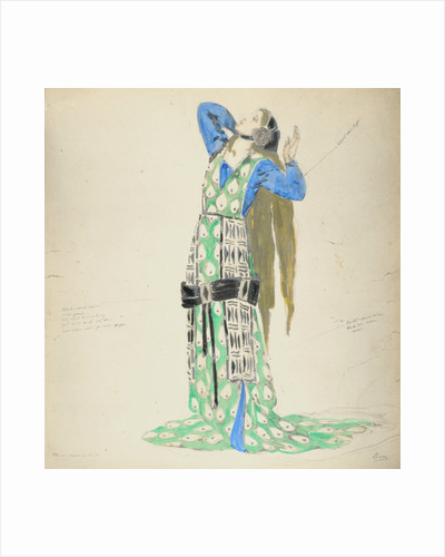 Costume Design for Bellengere in 'Le Mort de Tintagiles' by Charles Ricketts