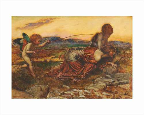 Cupid Driving the Lovers by John Byam Liston Shaw