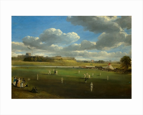 Cricket Match at Edenside, Carlisle by Samuel Bough