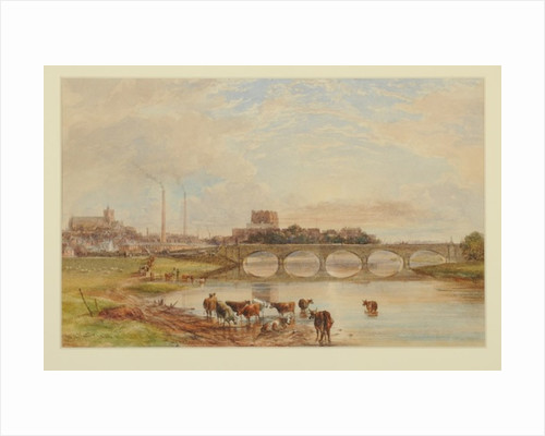 Carlisle from the Sands by William Henry Nutter