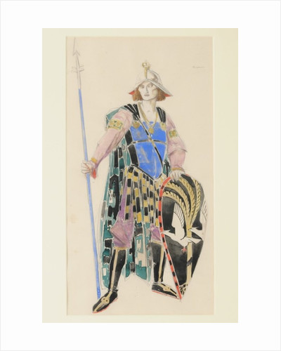 Costume Design for Tristan by Charles Ricketts