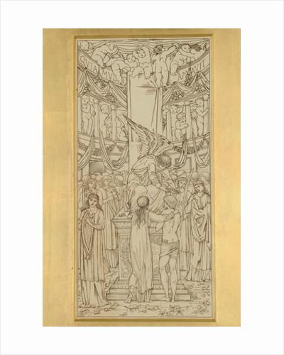 The Mystic Marriage by Sir Edward Coley Burne-Jones