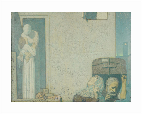 The Farewell by Frederick Cayley Robinson