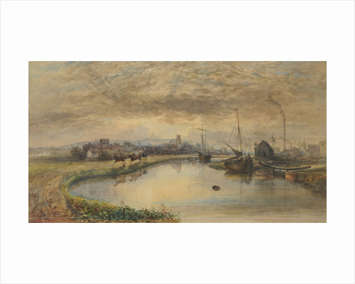 Early Morning - Carlisle from the Canal by William Henry Nutter