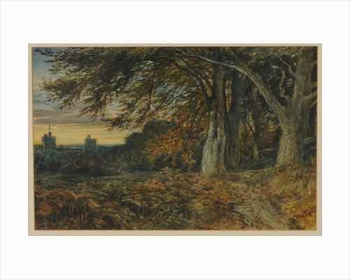 Naworth Castle by Samuel Bough