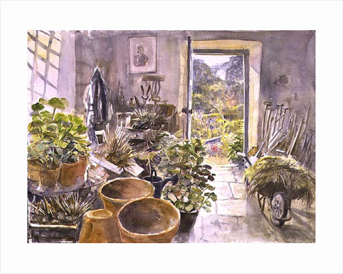 Potting Shed at La Forge de Buffon by Tim Scott Bolton