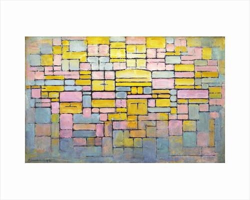 Tableau no. 2 / Composition no. V, 1914 by Piet Mondrian
