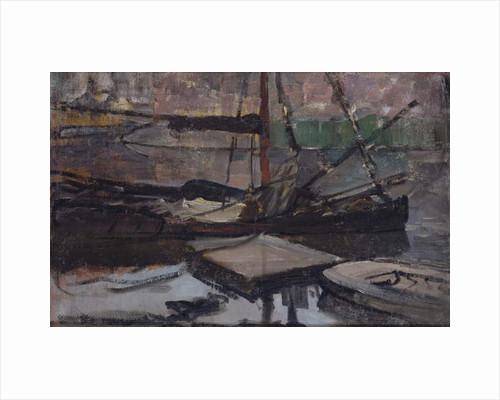 Stadhouderskade near the Amsterdam House of Detention, 1899-1900 by Piet Mondrian