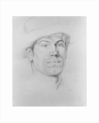Self Portrait, c.1911 by Christopher Richard Wynne Nevinson