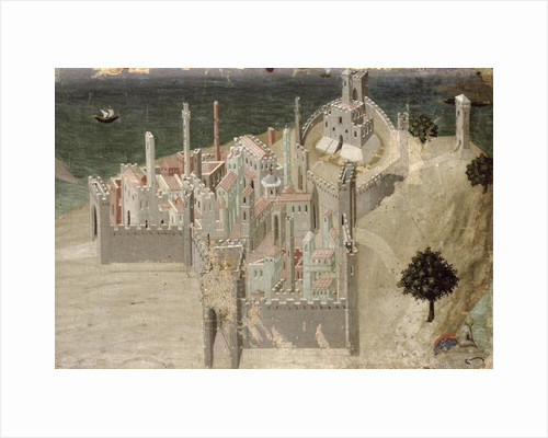View of a Coastal City by Ambrogio Lorenzetti