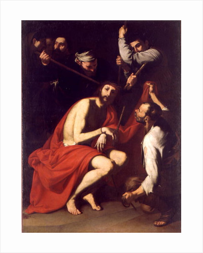 The Mocking of Christ by Jusepe de Ribera