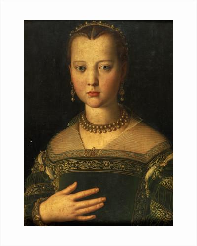 Portrait of Maria de' Medici by Agnolo Bronzino