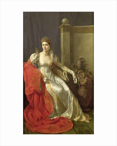 Elisa Bonaparte Princess Bacciochi by Marie Guilhelmine Benoist