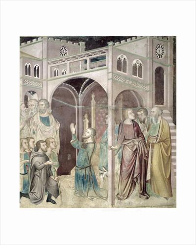 Job Thanking God by also Manfredi de Battilori Bartolo di Fredi