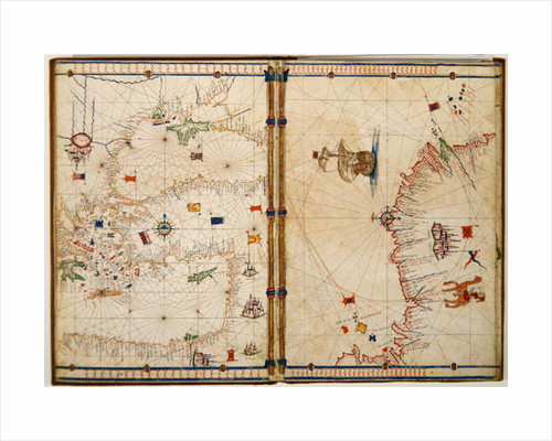 Map of the Eastern Mediterranean Coast and Islands by Jacopo Russo